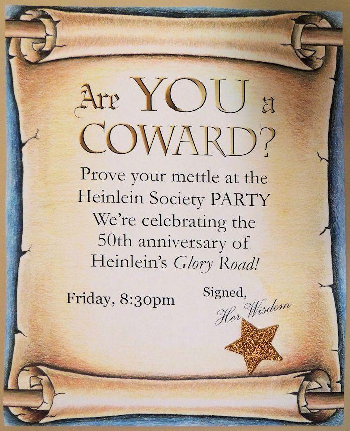 Heinlein Society Party at LonestarCon