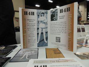 Heinlein For Heroes display