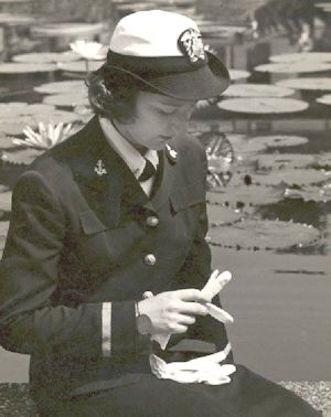 Virginia Heinlein, World War II Naval Officer