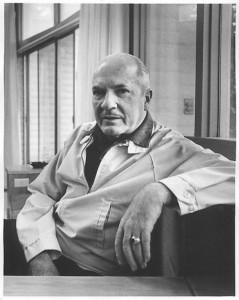 Robert A. Heinlein photo courtesy of the  Heinlein Prize Trust