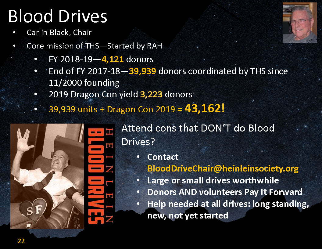 2019 Blood Drives Report