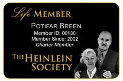 Heinlein Society Life Member Card