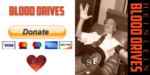 Donate to Heinlein Society Blood Drives