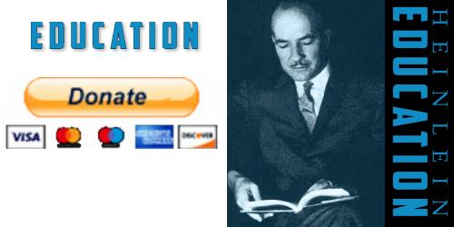 Donate to the Heinlein Society Education program