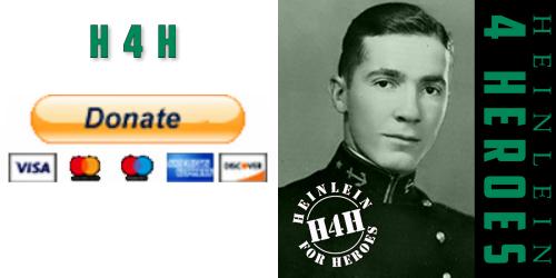 Donate to Heinlein Society Heinlein For Heroes