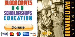 Pay It Forward - Donate to the Heinlein Society