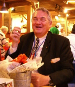 Bill Patterson enjoyed food.