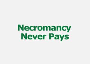 Necromancy Never Pays logo